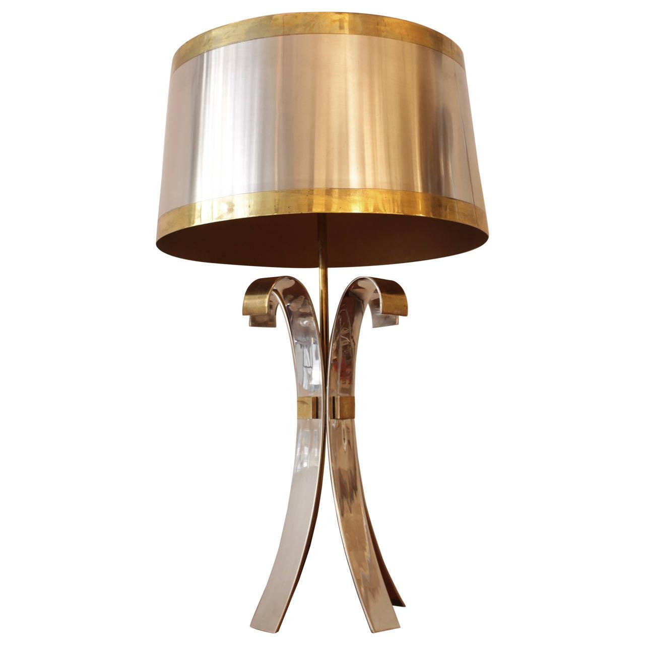 "Maison Charles ""Corolle"" lampe de table"