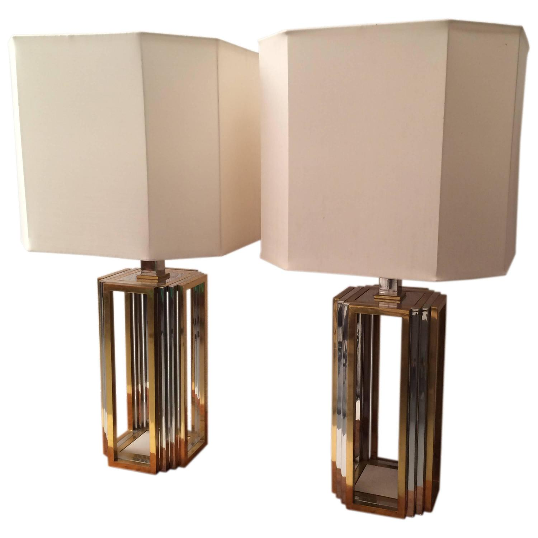 Romeo Rega Paire de lampe de table