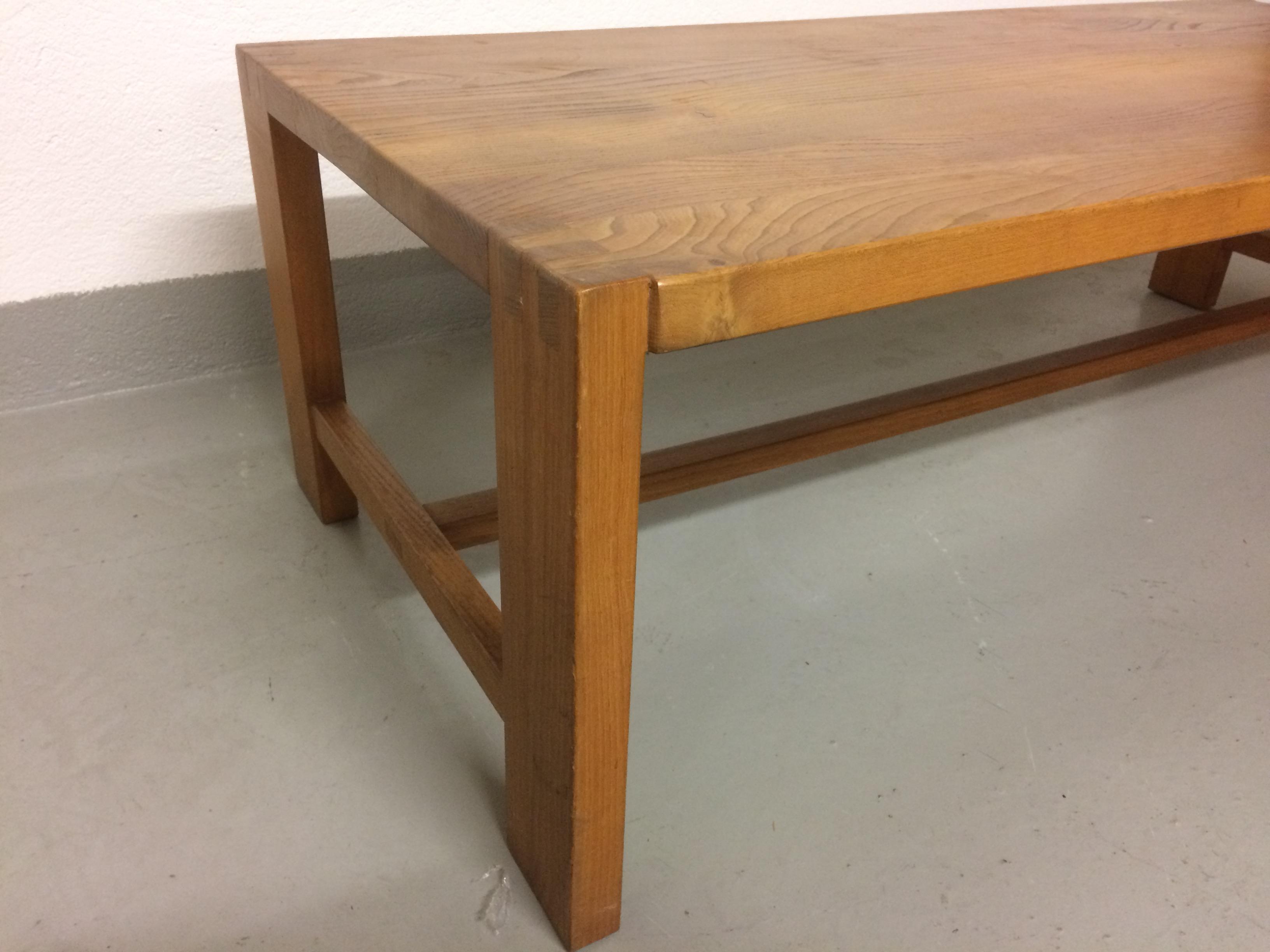 Pierre Chapo Table Basse Orme Massif T06 Les Illumin S