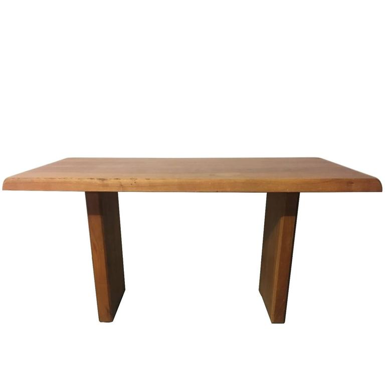Pierre Chapo table orme massif T14