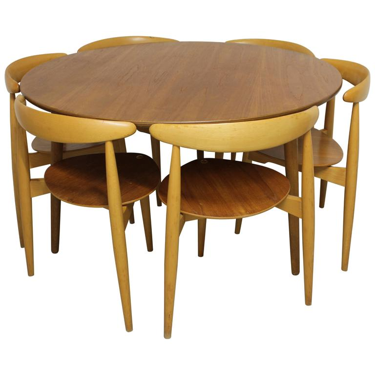 "Hans J. Wegner ""Heart"" Dining Set"