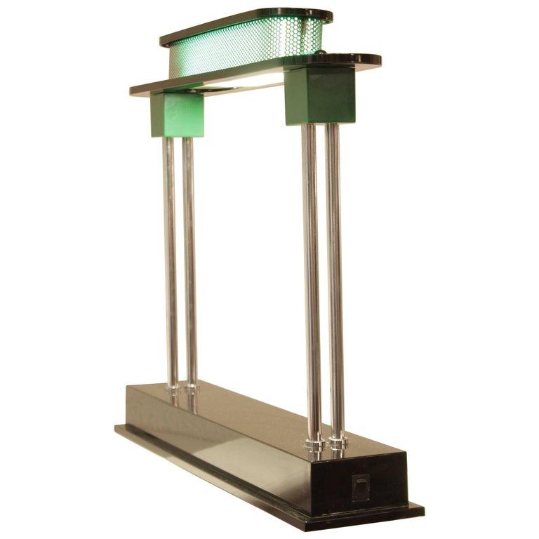 """Ettore Sottsass Lampe Bureau """"Pausania"""""""