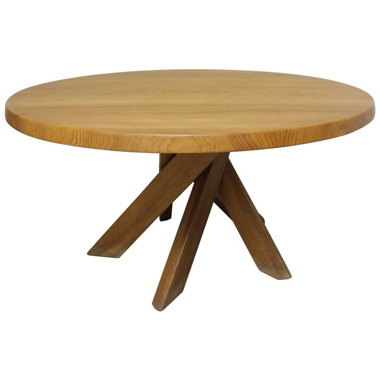 Pierre Chapo Table Orme Massif T21