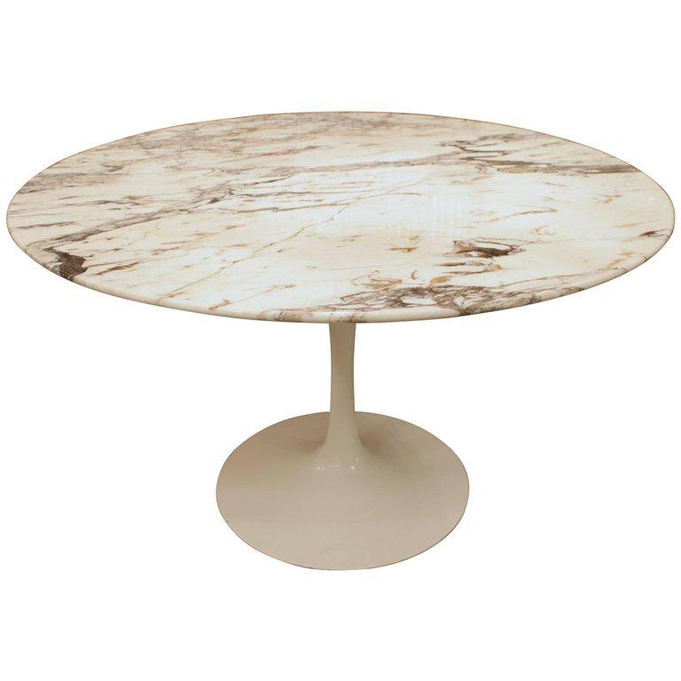 Eero Saarinen Table Marbre Knoll