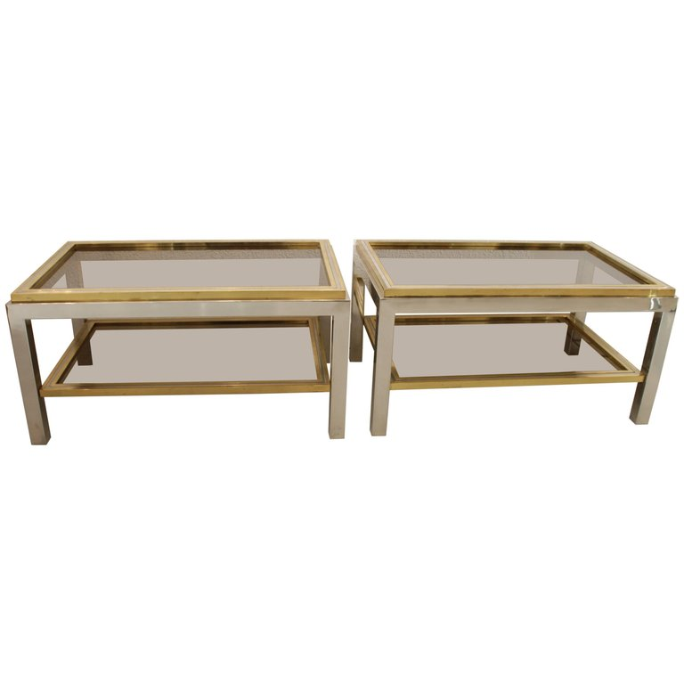 Willy Rizzo Side Tables