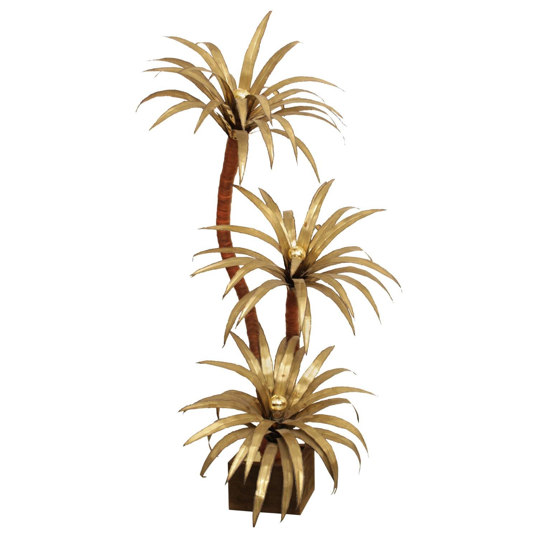 Lampadaire palmier