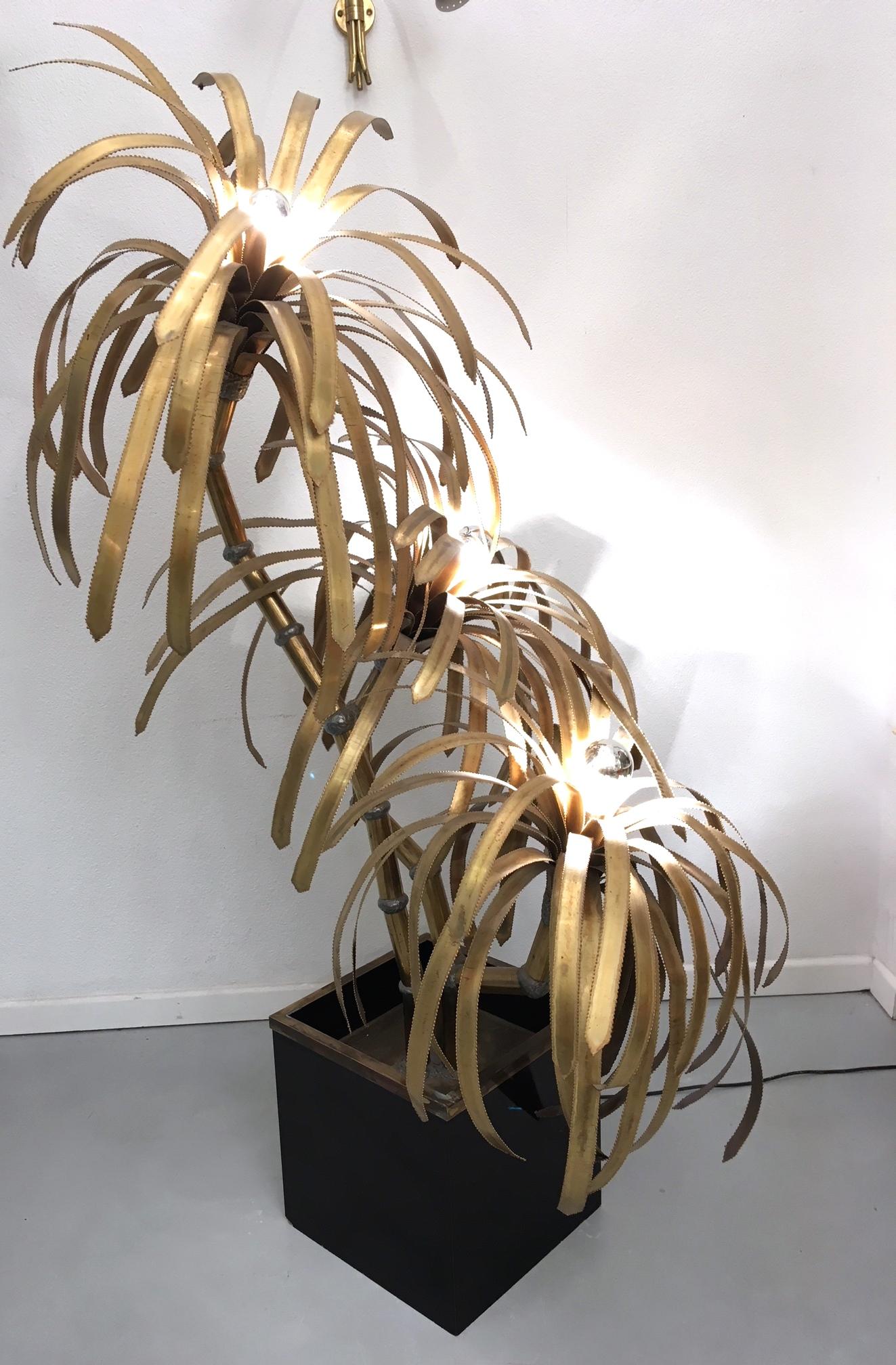 Maison Jansen Lampe Palmier