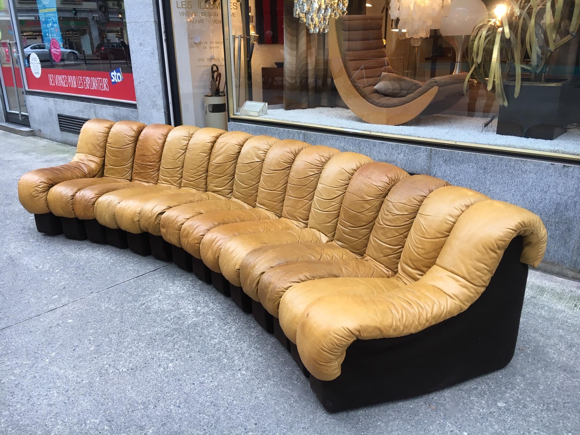 De Sede DS 600 Canapé Cuir